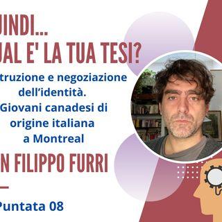 PUNTATA 08, Filippo Furri, Antropologo e Membro di Migreurop, Parigi