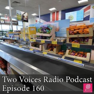 Weather, happier fish, internet radio, hotel breakfast, food waste, checkouts. EP 160