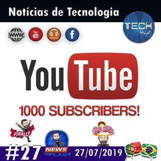 1000 subscritores!!! Muito obrigado :-D #27