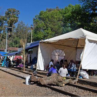 Piden a AMLO, intervenir en los bloqueos de la CNTE, en Michoacán