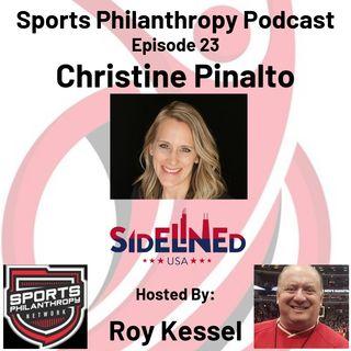 EP22: Christine Pinalto, Sidelined USA