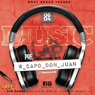 (Live) DJ Heaven X & @_Capo_Don_Juan at @MusicLabVA