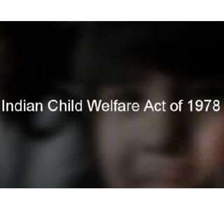 The Indian Child Welfare Act