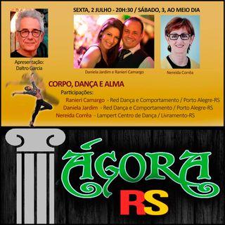 CORPO, DANÇA E ALMA com Ranieri Camargo, Daniela Jardim e Nereida Corrêa