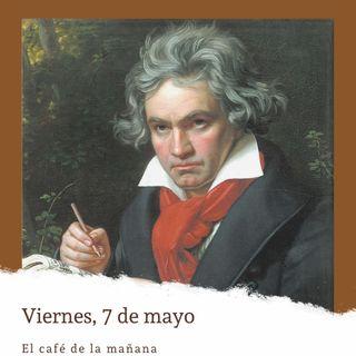 Viernes 7 de mayo. Estreno de la Novena Sinfonía de Beethoven