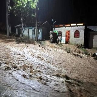 Frente Frío 13 deja daños en casas de Chiapas