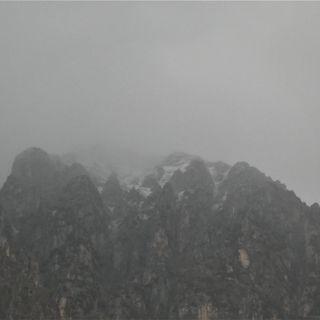 Prima neve sulla montagna vicentina