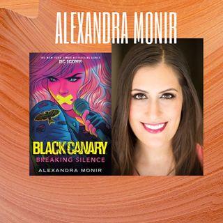 Alexandra Monir Black Canary Breaking Silence