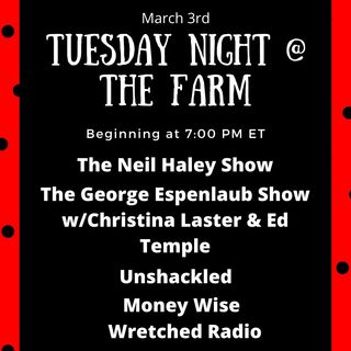 Part 2 of March 3rd: Tuesday Night at the Farm