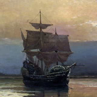 The Mayflower Ship Celebrates 400 Years - Glynn Burrows and Holly T. Hansen on BIg Blend Radio