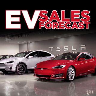 48. EV Sales Forecast | Tesla Stock Prediction
