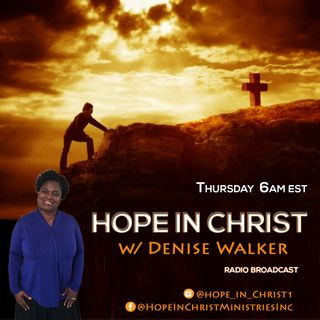 Return to Hope- Giving God your Broken Pieces (Michelle Stephens and Apostle Derashay Zorn)