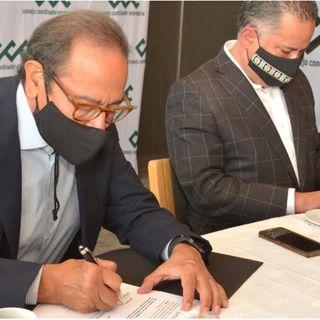 CCE  y UIF firman convenio