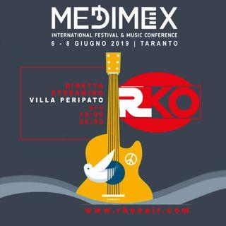 RKO in diretta dai Giardini di Villa Peripato. 3°giorno Medimex2019