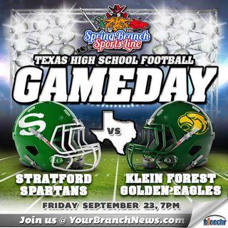 Stratford Spartans vs Klein Forest Football 9/23