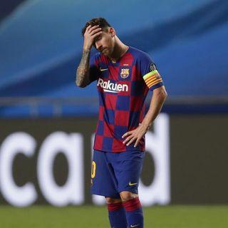 Que hubiera pasado si messi hubiera dejado al fc barcelona