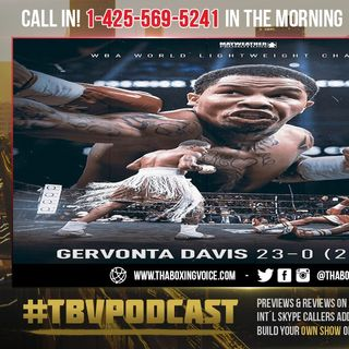 ☎️Gervonta Davis KO's Gamboa in 12❗️Crawford Reacts😱Stay AWAY From Lomachenko  or Haney🔥