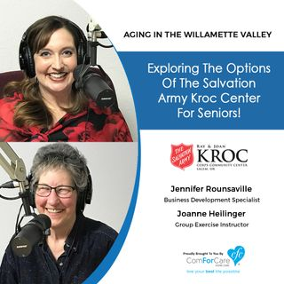 5/8/18: Jennifer Rounsaville and Joanne Heilinger with The Salvation Army Kroc Community Center
