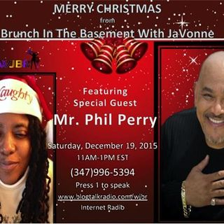 Phil Perry for Christmas Brunch In The Basement With JaVonne