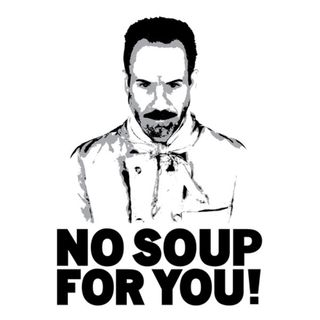 NO SOUP for YOU!  (Nigeria taking it away from the people)