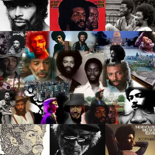 Gil Scott Heron (Poetry In Motion) #1 {1949 - 2011}