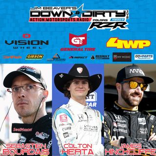 #385 – James Hinchcliffe, Sebastien Bourdais, & Colton Herta On Air!