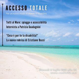 Tutti al mare, spiagge e accessibilita'- Accesso Totale del 8-07-2021
