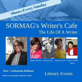 SORMAG Writer's Cafe - Literary Events 2018