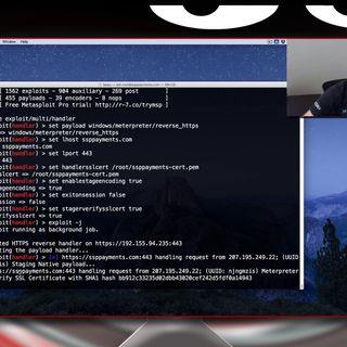 Meterpreter with Categorized Domains & Trusted Certs - Tradecraft Security Weekly #4