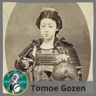 Miriam Abarca con Tomoe Gozen