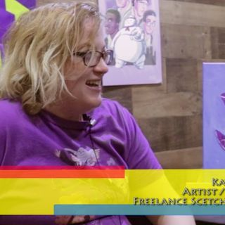Love and Pop Culture! Illustrator KeelHaulKate: an interview on the Hangin With Web Show