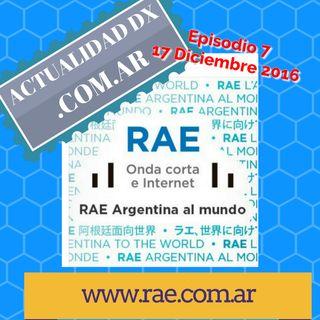 DX 07 Noticias DX Argentina y escuchando Omda Media en Bogotá