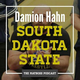 South Dakota State head coach Damion Hahn