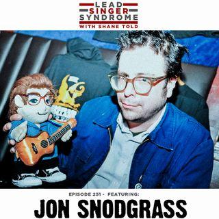 Jon Snodgrass (Armchair Martian, Scorpios, Solo)