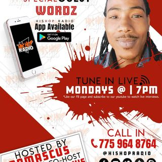 EPISODE 55 /  HIS HOP RADIO SHOW - WORDZ