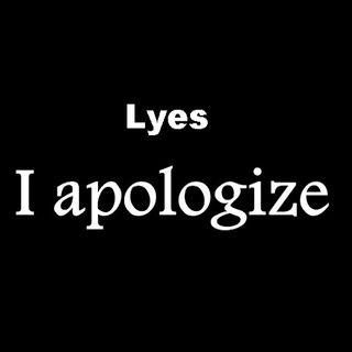 Lyes - I Apologize (Original Mix)