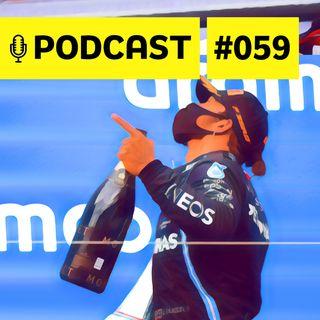 #059 – O debate de fãs e 'haters' sobre domínio de Hamilton e participação de Eric Granado