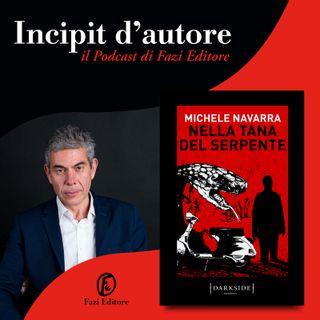 Michele Navarra legge «Nella tana del serpente»