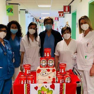 """""""Pasqua in corsia"""" in 5 ospedali veneti grazie ai volontari di Vicenza For Children"""