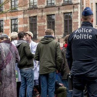 #brx Bruxelles, ALLERTA 4!