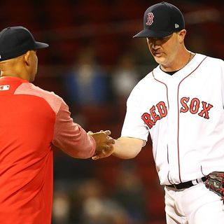 Red Sox' Stephen Wright Happy With First MLB Outing In Over A Year
