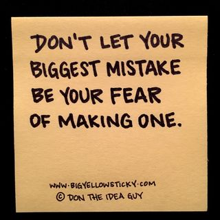 Fearing Mistakes : BYS 237