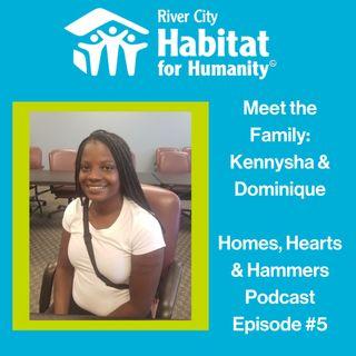 Meet the Family: Kennysha & Dominique