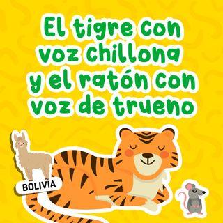 Cuando El tigre con voz chillona y el ratón con voz de trueno 25 I Cuentos infantiles I Fábulas cortas