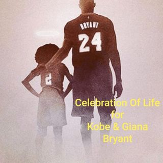 Celebration Of Life for Kobe & Giana Bryant   2/24/2020