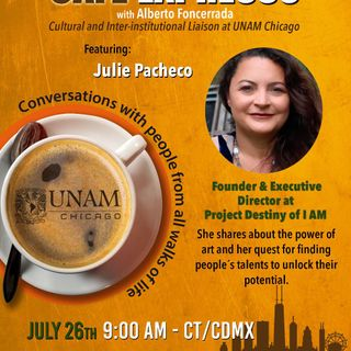 """A CONVERSATION WITH JULIE PACHECO FOUNDER OF THE PROJECT """"DESTINY OF I AM"""""""