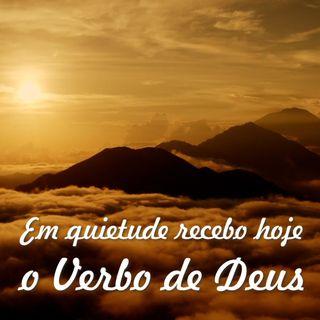 Reflexão 061 - Em quietude recebo o Verbo de Deus