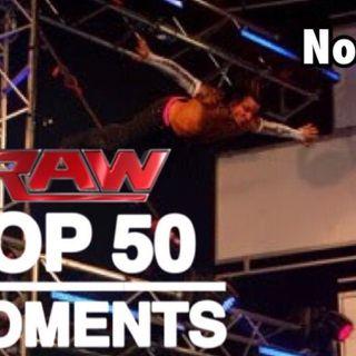Top 50 WWE RAW Moments - SWANTON BOMB