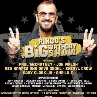 RINGO STARR festeggia, da Los Angeles, i suoi 80 anni con una festa virtuale, in streaming, a scopo benefico. Con lui, andiamo poi al 1973.