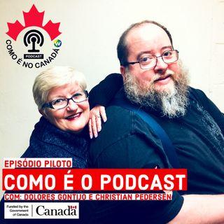 Como é o Podcast | Com Dolores Gontijo e Christian Pedersen | Episódio Piloto